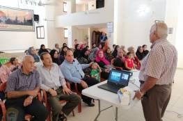 اللجان الشعبية بلبنان والاونروا يعقدان محاضرة حول مرض الصفيرا