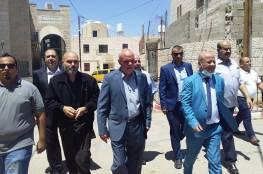 د. أبو هولي يتفقد مخيم دير عمار ويطلع على احتياجاته