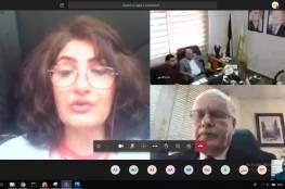 مؤتمر المشرفين على شؤون الفلسطينيين يحذر من تداعيات مخطط الضم الإسرائيلي