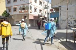 دائرة شؤون اللاجئين واللجنة الشعبية بدير البلح تواصل حملتها الوقائية لليوم التاسع على التوالي