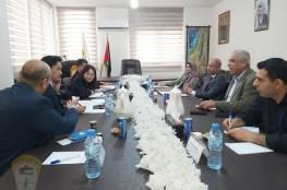 د. ابو هولي يلتقي بنائب مدير عام دائرة الشرق الأوسط لجايكا السيدة أونو
