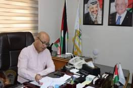 د. ابو هولي يدعو الأونروا الى التحرك باتجاه حث المانحين على تقديم تمويل اضافي وتوسيع قاعدة المانحين