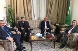 د. ابو هولي يلتقي الامين العام المساعد لجامعة الدول العربية د. سعيد ابو علي