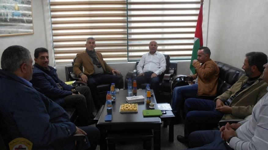 لقاء وزير الحكم المحلي1