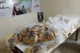 اللجنة الشعبية في اقليم الخروب توزع 300 ربطة خبز للعائلات المحتاجة
