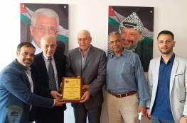اللجنة الشعبية بالمغازي تزور مركز التخطيط الفلسطيني