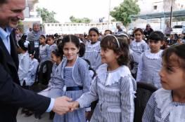 ابو عاذرة يعلن جاهزية الوكالة لاستقبال العام الدراسي