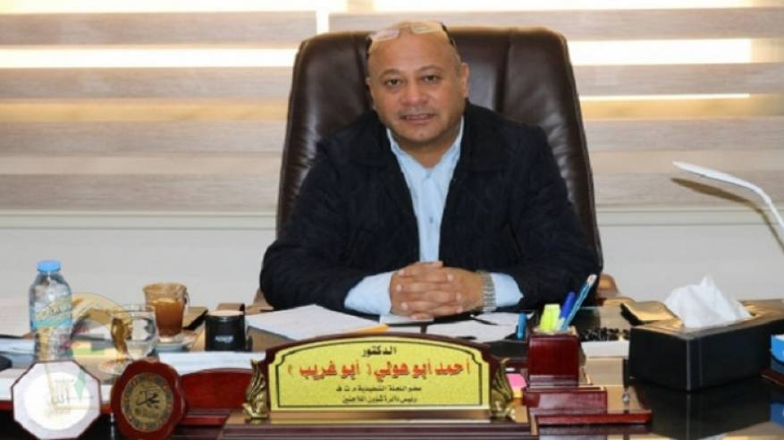 د. ابو هولي يطالب الامم المتحدة والدول المانحة  الوفاء بالتزاماتها المالية تجاه الاونروا