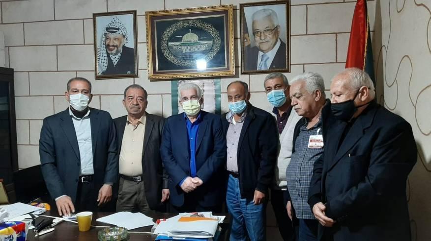 لجنة المتابعة المركزية للجان الشعبية في مخيمات لبنان تبحث مع دائرة شؤون اللاجئين احتياجات اللاجئين