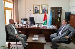 أبو هولي يطلع على سير عمل اللجنة الوطنية للتربية والثقافة والعلوم