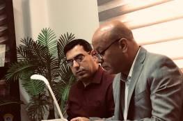 د. ابو هولي يطالب الجامعة العربية بضرورة تفعيل قرار شبكة الأمان المالية لدعم دولة فلسطين