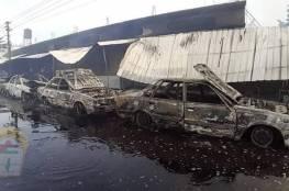 د. أبو هولي ينعي ضحايا حادث الحريق بمخيم النصيرات