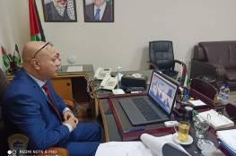 د. أبو هولي يدعو الى تعزيز العمل العربي المشترك تجاه القضية الفلسطينية