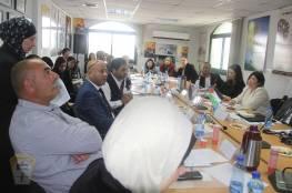 د. ابو هولي يشيد بالدعم الياباني للمخيمات الفلسطينية