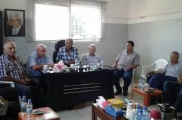 الشعلان يبحث مع أمانة سر اللجان الشعبية في منطقة صور تجديد تفويض عمل ولاية الاونروا