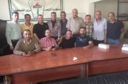 اللجنة الشعبية بمخيم برج البراجنة تستقبل وفد فلسطيني من جنين