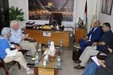 د. ابو هولي وشمالي يؤكدان على استمرار الأونروا في اجراءاتها الوقائية في مواجهة فيروس