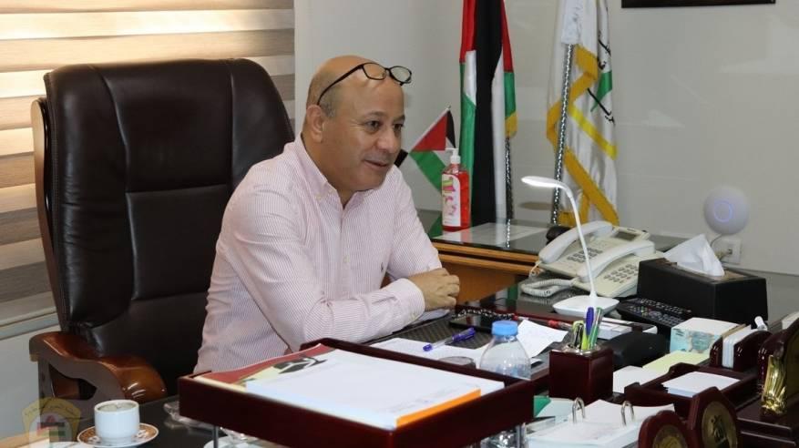 د. ابو هولي : دائرة شؤون اللاجئين تدعم مستشفى الهمشري بلبنان بأجهزة وشرائح فحص كورونا