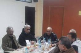 لقاء مشترك بين اللجنة الشعبية لمنظمة التحرير ولجنة حي الطوارئ