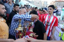 د. ابو هولي يختتم بطولة شهداء المغازي الرمضانية الخامسة لكرة القدم في مخيم المغازي