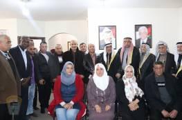 اللجنة الشعبية للاجئين بمخيم رفح تبارك إنجازات الدكتور أحمد أبو هولي وقيادتنا الحكيمة وتهنئهم بتجديد تفويض عمل الوكالة الاونروا