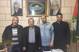 دائرة شؤون اللاجئين في لبنان تلتقي اللجنة الشعبية في مخيم مارالياس