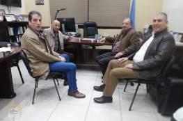 وفـد فلسطيني يلتقي الدكتورالخطيب مديرخدمات الانروا في منطقة صيدا