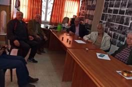 اللجنة الشعبية بمخيم طولكرم ولجنة الطوارئ تنفذ سلسلة من الانشطة الوقائية لحماية المخيم من فيروس كورونا