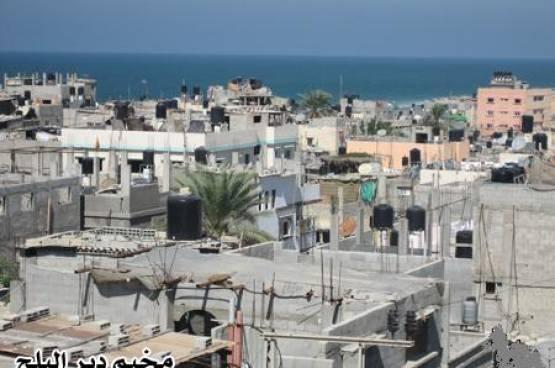 مخيم دير البلح للاجئين