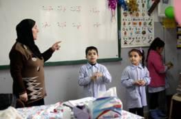 مدارس الأونروا في لبنان تساعد أطفال اللاجئين الفلسطينيين النازحين من سوريا على استعادة الإحساس بالحياة الطبيعية