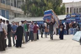 """""""الأونروا"""" تبدأ توزيع مخصصات بدل الإيجار على اللاجئين المتضررين من العدوان"""