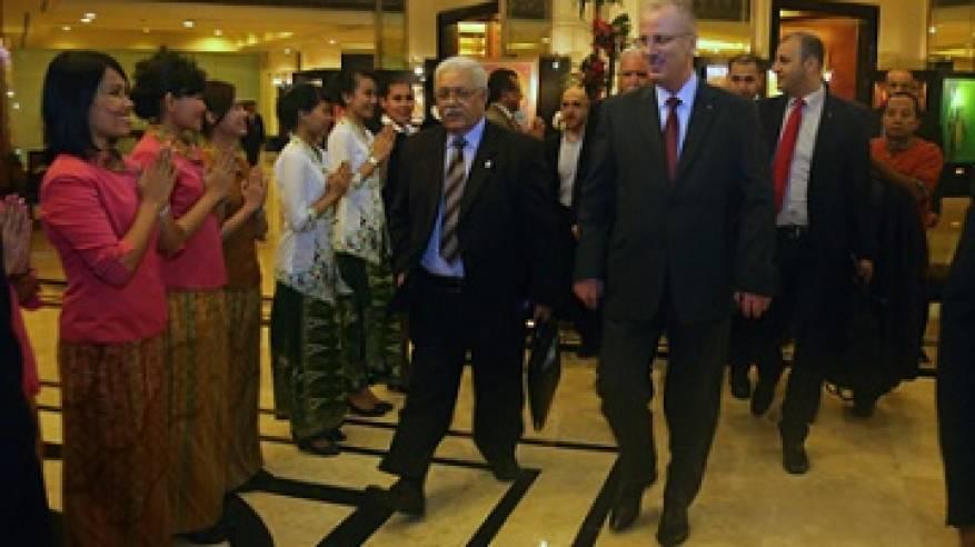 الحمد الله يثمن اعتماد مؤتمر القمة الأسيوي الإفريقي إعلانا بشأن فلسطين
