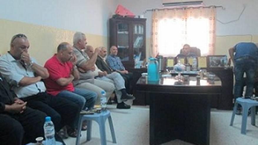 اللجنة الشعبية لخدمات مخيم جنين تعقد اجتماعا طارئا