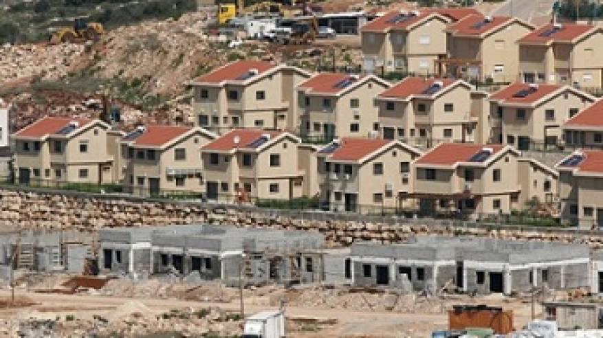 اسرائيل تشرع ببناء نحو 800 وحدة استياطنية جديدة في الضفة