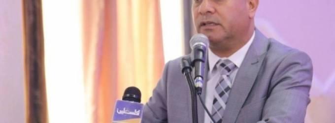 الدكتور احمد ابو هولي عضو اللجنة التنفيذية لمنظمة التحرير الفلسطينية رئيس دائرة شؤون اللاجئين