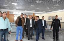 زيارة الدكتور احمد ابو هولي عضو اللجنة التنفيذية لـ م.ت.ف الى معبر رفح بتاريخ 3/12/2018