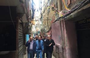 تقرير زيارة رئيس دائرة شؤون اللاجئين د. احمد ابو هولي الى لبنان بتاريخ 24/3/2019